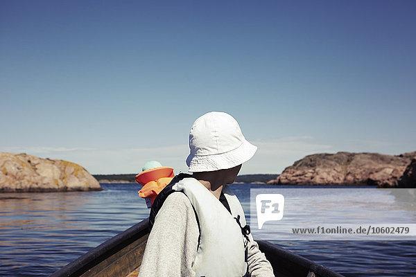 Ruderboot Sohn Mutter - Mensch