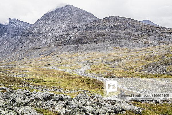 Berg wandern Einsamkeit