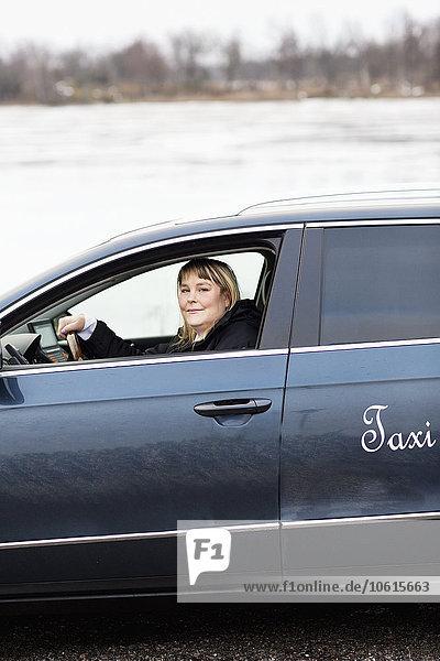 Auto fahren Taxi