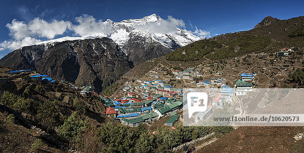 Nepal  Himalaya  Khumbu  Namche Bazaar