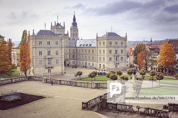 Deutschland  Bayern  Coburg  Schloss Ehrenburg