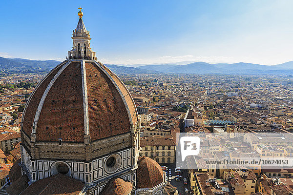 Italien  Toskana  Florenz  Blick auf Cattedrale di Santa Maria del Fiore