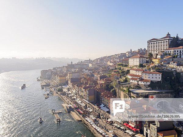Portugal  Grande Porto  Blick auf Porto  Douro Fluss