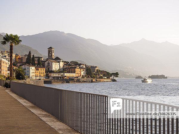 Schweiz  Tessin  Lago Maggiore  Brissago
