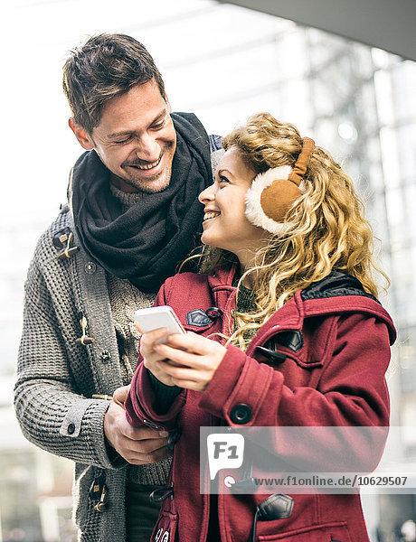 Italien  Mailand  Porträt des glücklichen Paares