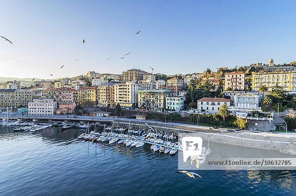 Italien  Ligurien  Savona  Schiffe im Hafen