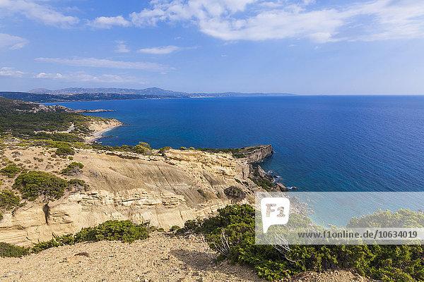 Griechenland  Dodekanes  Rhodos  Küste am Kap Fourni
