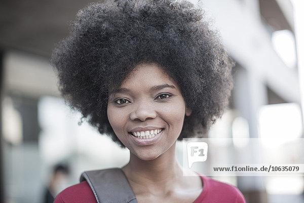 Porträt einer Afrikanerin