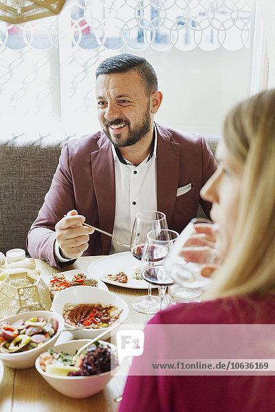Fröhlichkeit Restaurant libanesisch Tisch