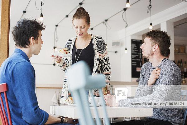 Freundschaft unterhalten Laden Kaffee Frühstück Freundschaft,unterhalten,Laden,Kaffee,Frühstück