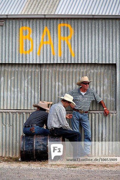 Cowboy Victoria Australien australisch Rodeo