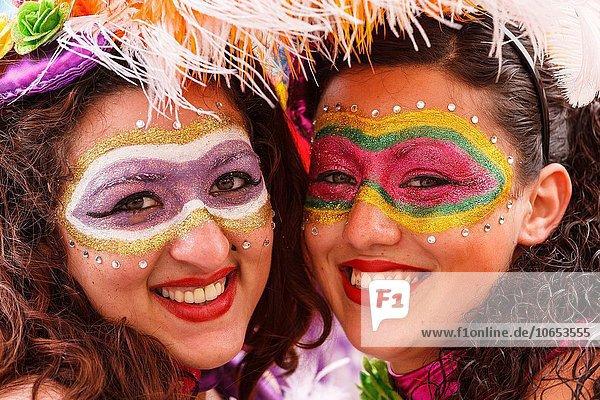 Europa Frau Karneval Gozo Malta