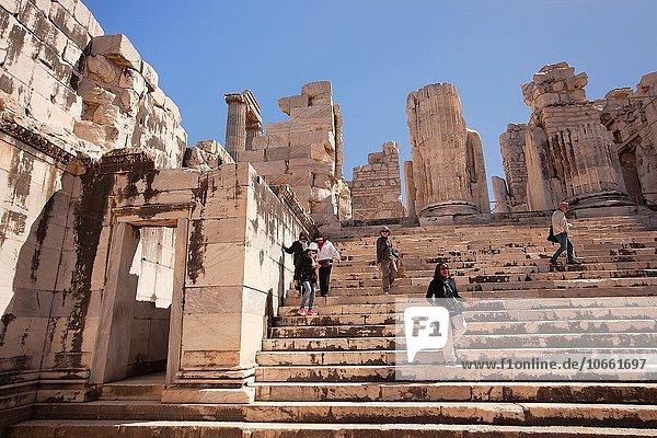 Europa Tourist Zimmer Archäologie Türkei Provinz Aydin