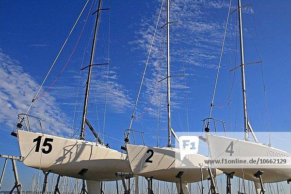 Frankreich Segelboot Le Havre Normandie