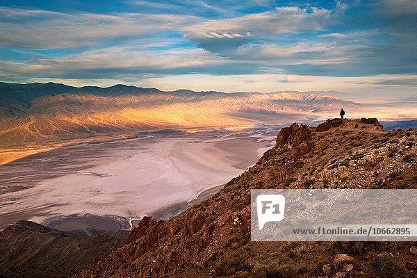 Berg über Tourist Ignoranz Death Valley Nationalpark Kalifornien