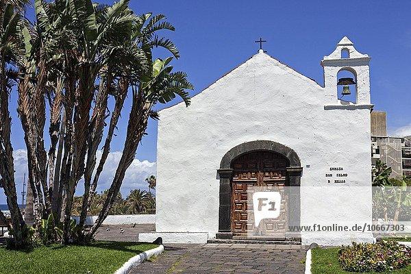 Kapelle San Telmo,  Puerto de la Cruz,  Teneriffa,  Kanarische Inseln,  Spanien,  Europa
