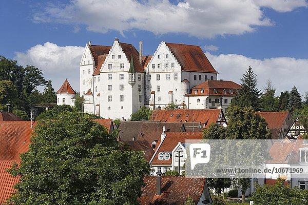 Schloss Scheer  Scheer  Oberschwaben  Schwaben  Baden-Württemberg  Deutschland  Europa