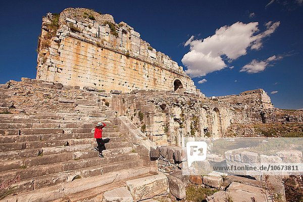 Europa Tourist Ruine Türkei antik Provinz Aydin