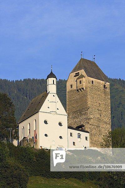 Burg Freundsberg  Schwaz  Tirol  Österreich  Europa