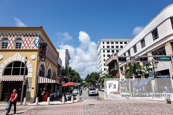 Entertainment Restaurant Kunst Gericht Mahlzeit kubanisch Ortsteil Innenstadt Florida
