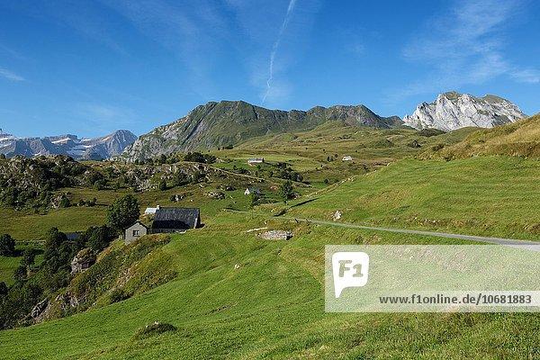 Plateau de Saugue  Hautes Pyrénées  Frankreich  Europa
