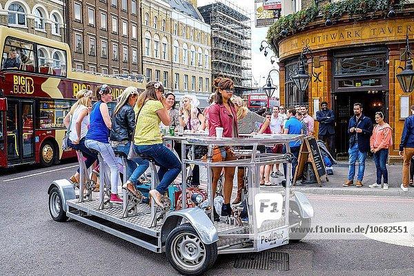 Party Reise Großbritannien London Hauptstadt Henne