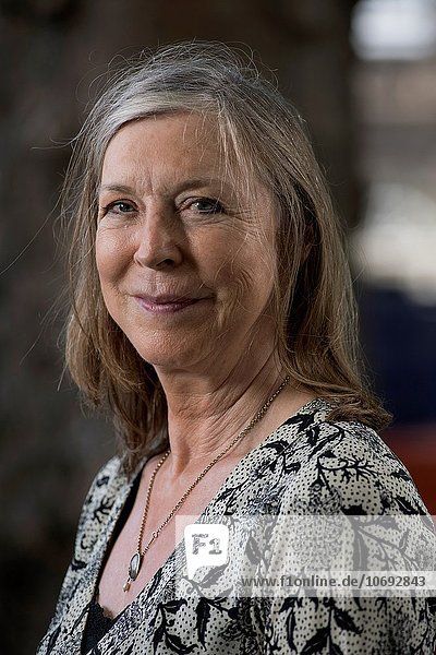 EDINBURGH  SCOTLAND  Thursday 20th  AUGUST 2015: English novelist Salley Vickers appears at the Edinburgh International Book Festival. The two weeks event is the world´s biggest literary festival of its kind celebrated annually in Edinburgh  which in 2004 became the World´s first UNESCO city of literature.