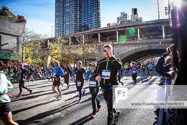 Marathonlauf Marathon Marathons Läufer Globalisierung neu
