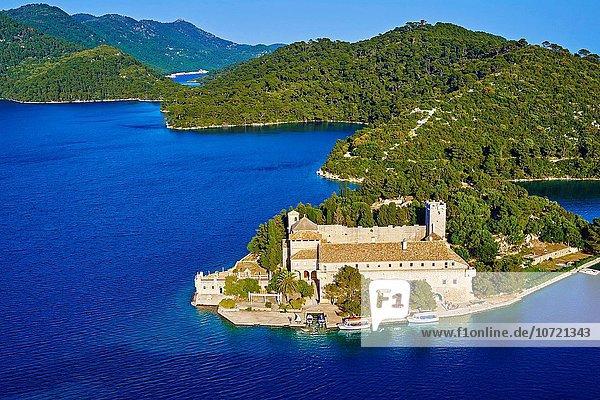 Insel Jungfrau Maria Madonna Kroatien Dalmatien Kloster