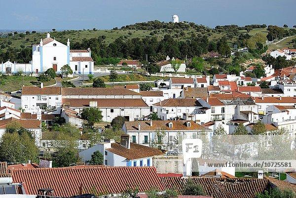 View of Arraiolos town  Alentejo  Portugal.