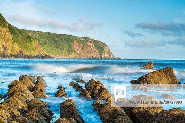 Europa Strand North Devon Ansicht zeigen England