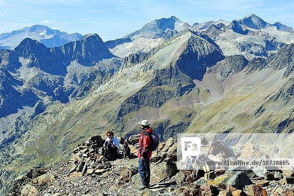 Berggipfel Gipfel Spitze Spitzen Ansicht Berg Gebirgszug