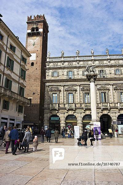 Italy  Verona  Piazza delle Erbe