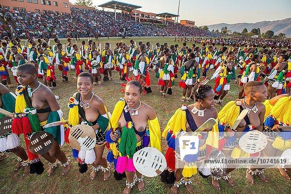 Tag tanzen Zeremonie König - Monarchie 7 sieben Swasiland