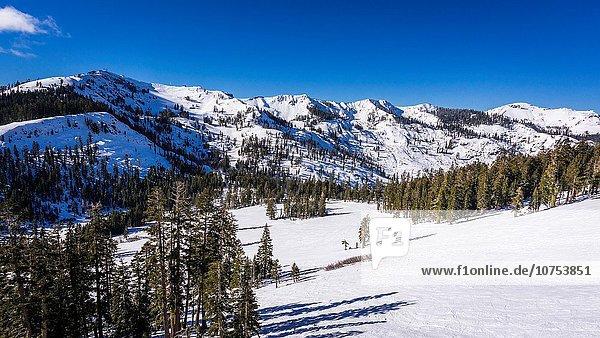 Berg Ski Wiese Zimmer Kalifornien