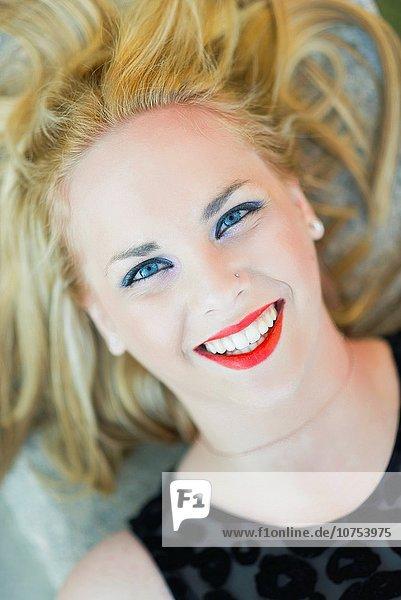 Portrait Frau über blond