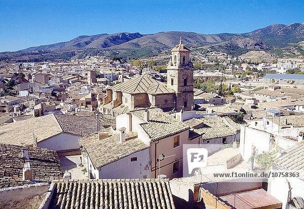 Overview. Caravaca de la Cruz  Murcia  Spain.