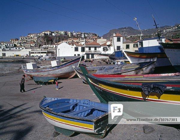 Camara de Lobos Fischerdorf Madeira Portugal