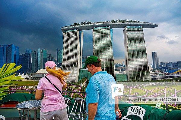 Hotel Jachthafen Sand Garten Asien Bucht Singapur