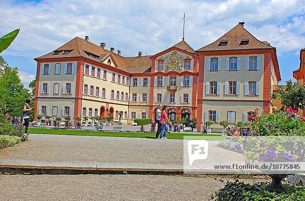 Europa Blume Palast Schloß Schlösser Insel Deutschland Mainau Baden-Württemberg