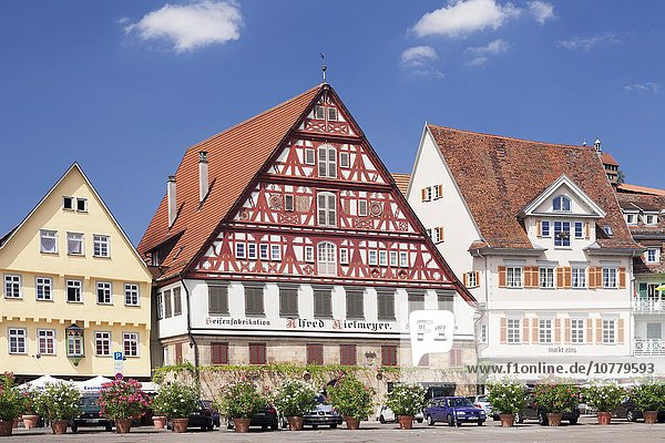 Kielmeyer Haus am Marktplatz  Esslingen  Baden-Württemberg  Deutschland  Europa