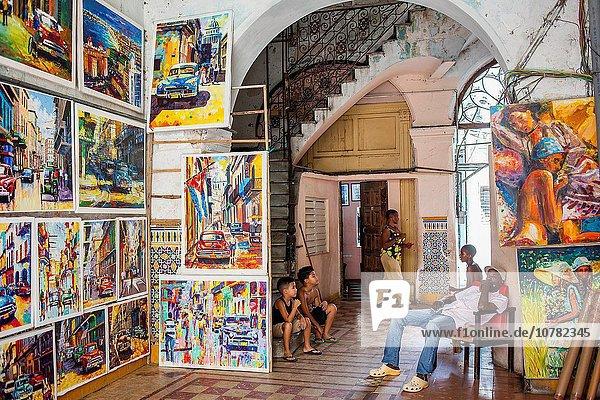 Galerie Kunstmaler Maler Kuba