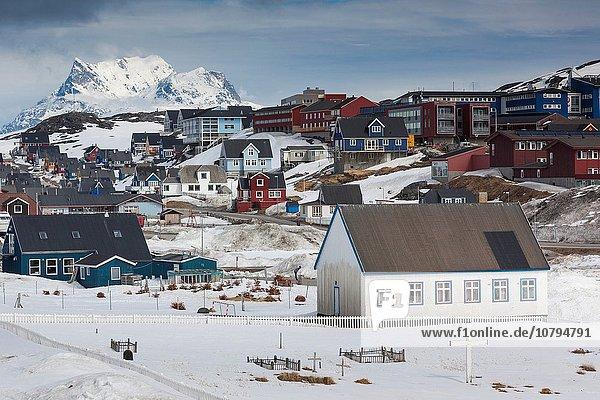 Skyline Skylines Berg Großstadt Grönland
