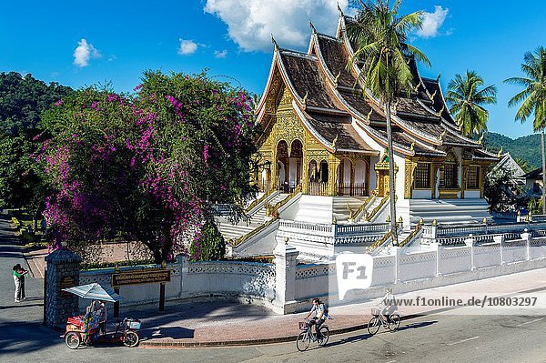 Großstadt Museum Monarchie Palast Schloß Schlösser UNESCO-Welterbe Asien Laos Südostasien
