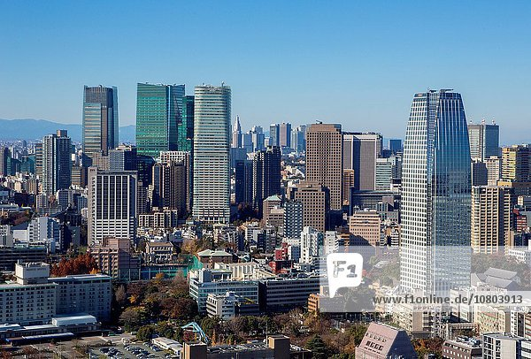 Skyline Skylines Ortsteil Japan