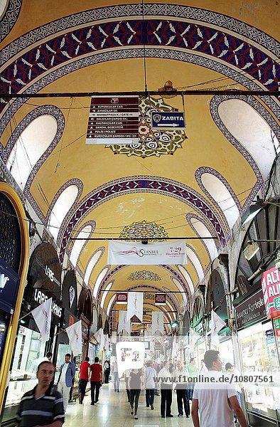 Basar Istanbul Türkei