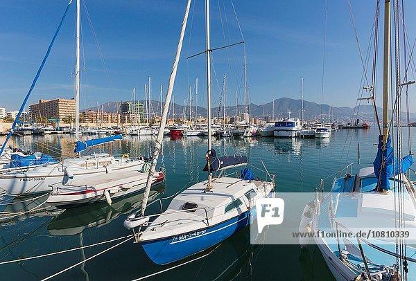 Hafen Freizeit Boot Süden Andalusien Fuengirola
