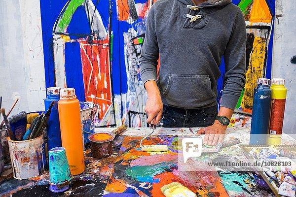 Malerei auf Leinwand