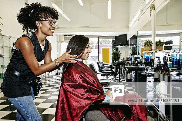 Lifestyle Kunde Friseur Haar