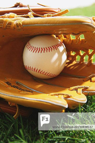 Gerät Baseball Gras